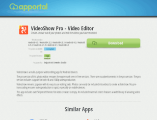 videoshow-pro-video-editor.apportal.co screenshot