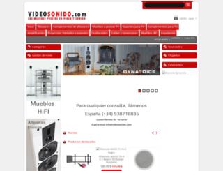 videosonido.com screenshot