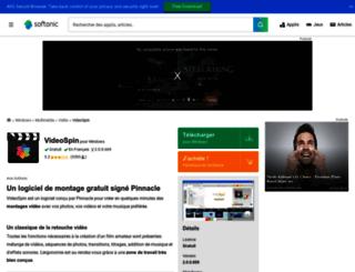videospin.softonic.fr screenshot