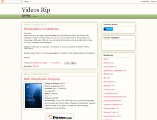 videosrip.blogspot.com screenshot