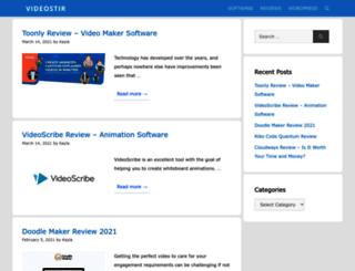 videostir.com screenshot