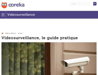 videosurveillance.comprendrechoisir.com screenshot