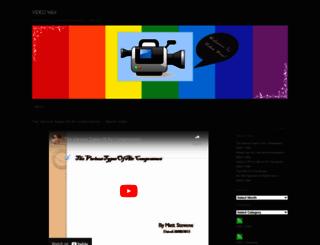 videowax.wordpress.com screenshot