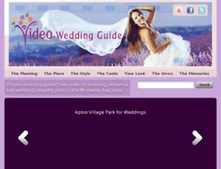 videoweddingguide.com screenshot