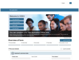 videx.diplo.de screenshot