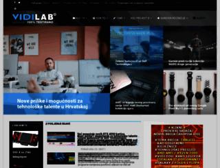 vidilab.com screenshot