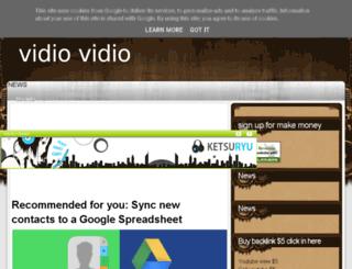 vidio-vidio-vidio.blogspot.de screenshot