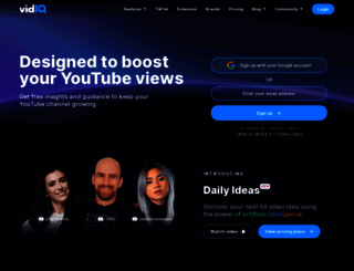 vidiq.com screenshot