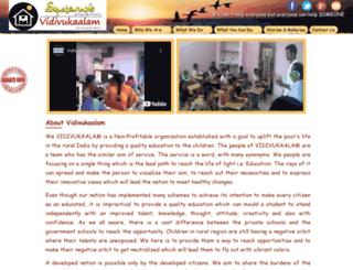 vidivukaalam.org screenshot