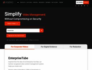 vidizmo.com screenshot