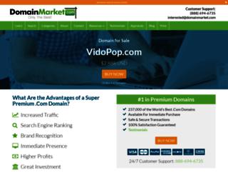 vidopop.com screenshot