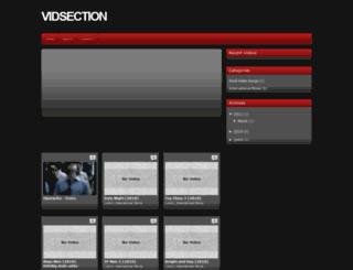 vidsection.blogspot.com screenshot