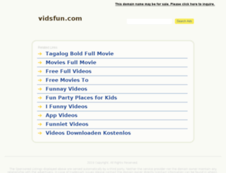 vidsfun.com screenshot