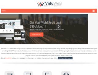 viduweb.com.au screenshot