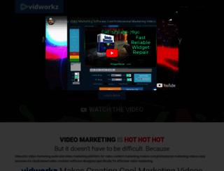 vidworkz.com screenshot