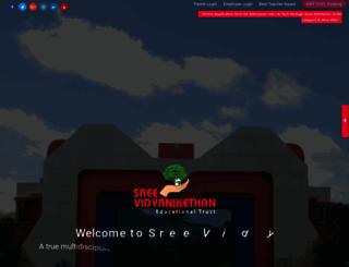 vidyanikethan.edu screenshot