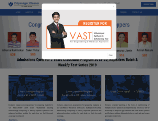 vidyasagar.com screenshot