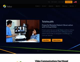 vidyo.com screenshot