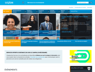 vie-etudiante.uqam.ca screenshot
