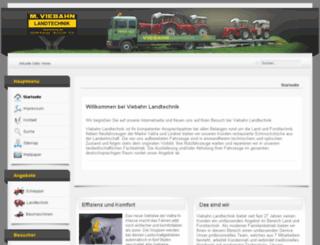 viebahn-landtechnik.de screenshot