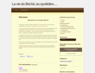 viedubelair.wordpress.com screenshot