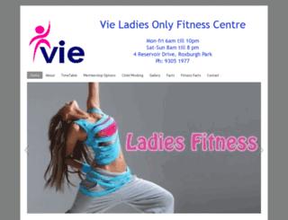 viefitness.com.au screenshot