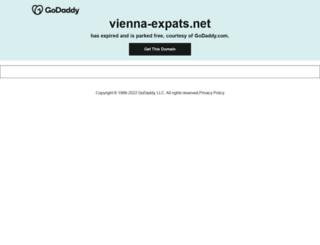 vienna-expats.net screenshot