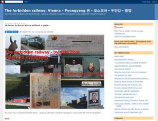 vienna-pyongyang.blogspot.de screenshot