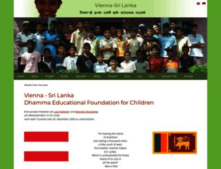 vienna-srilanka.org screenshot
