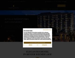 vienna.intercontinental.com screenshot