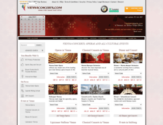 viennaconcerts.com screenshot