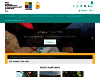 vienne.educagri.fr screenshot