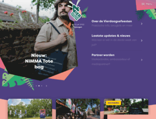 vierdaagsefeesten.nl screenshot