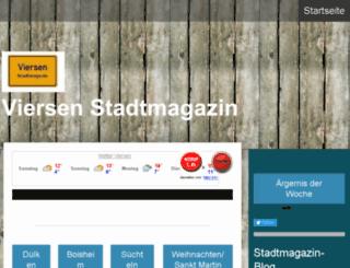 viersen-stadtmagazin.de screenshot
