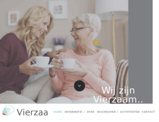 vierzaam.nl screenshot