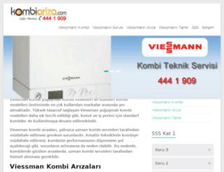 viessmann.kombiariza.com screenshot