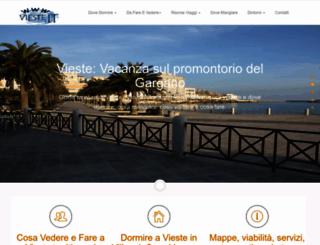 vieste.it screenshot