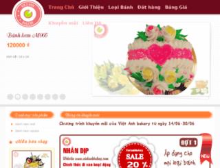 vietanhbakery.com screenshot