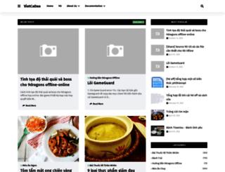 vietcadao.com screenshot