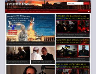 vietcatholic.net screenshot