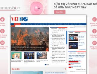 vietinfo.cz screenshot