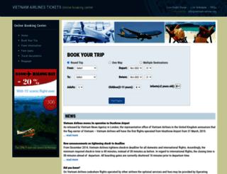vietnam-airline.org screenshot