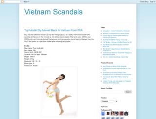 vietnam-scandals.blogspot.com screenshot
