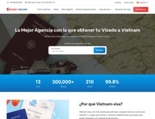 vietnam-visa.es screenshot