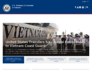 vietnam.usembassy.gov screenshot