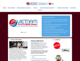 vietnamb2bdirect.com screenshot