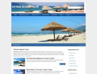 vietnambeachestours.com screenshot