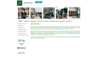 vietnambiketours.com screenshot
