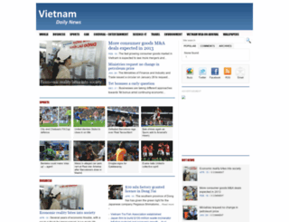 vietnamdaily.byethost10.com screenshot