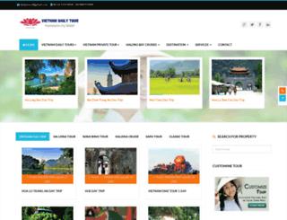 vietnamdailytour.com.vn screenshot